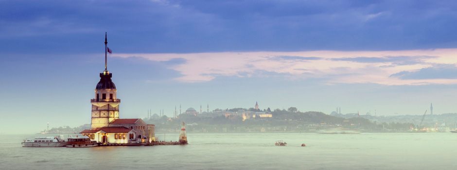 Kiz Kulesi, The Maiden's Tower in Istanbul, Turkey