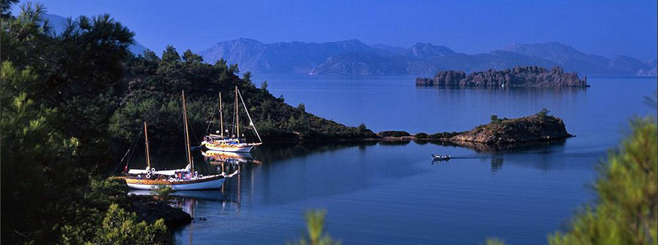 Turkish Aegean and Mediterranean holiday vacation